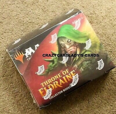 MAGIC THRONE OF ELDRAINE COLLECTOR'S BOOSTER BOX FREE PRIORITY SHIPPING