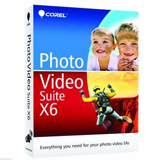 Corel Photo Video Suite X6 VideoStudio Video Studio PaintShop Pro