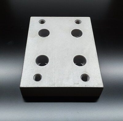8020 Inc Equivalent 15 Series Aluminum Flange Mount Caster Base Plate 2420