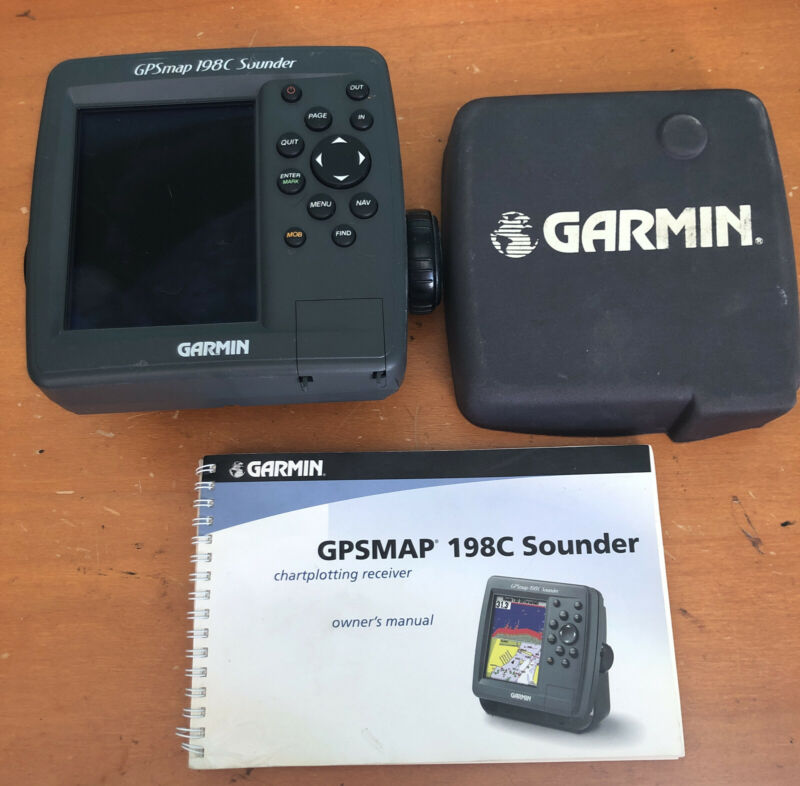 Garmin Gpsmap 198c Sounder chartplotter GPS Bluechart free shipping sun cover