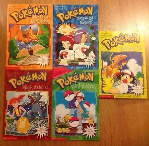 5 collectable Pokémon books Craigmore Playford Area Preview