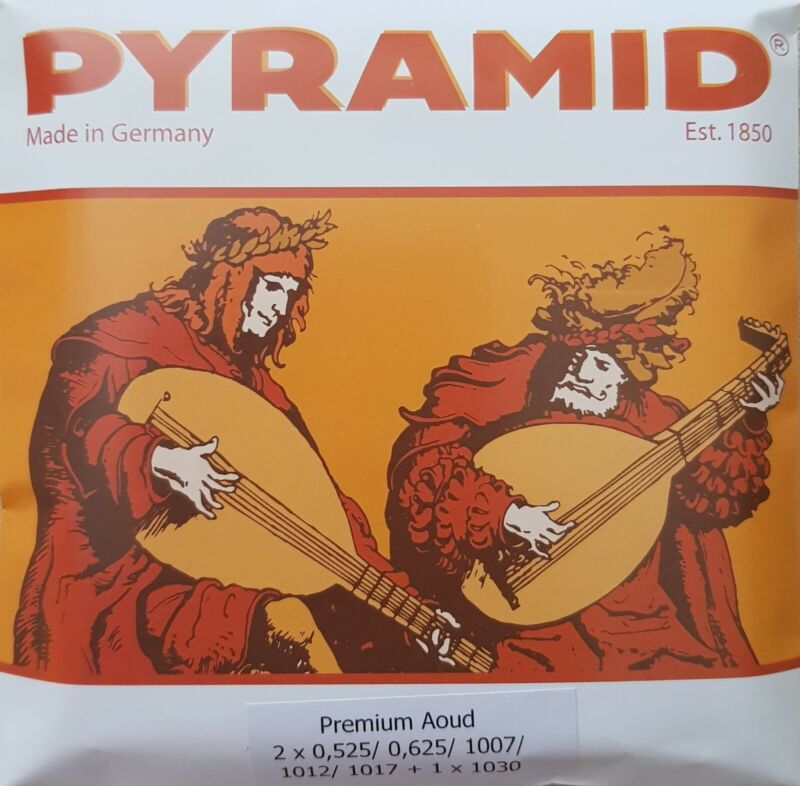 Pyramid Premium Oud - Lute Strings - Clear Carbon - 0.525 (MADE IN GERMANY)