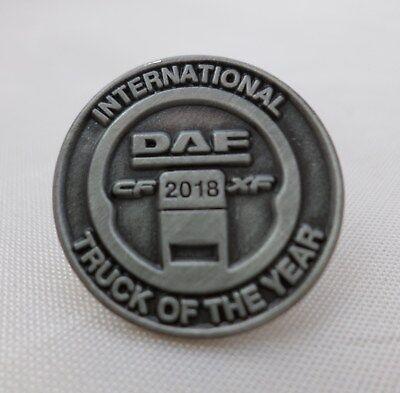 DAF Metal Lapel Pin