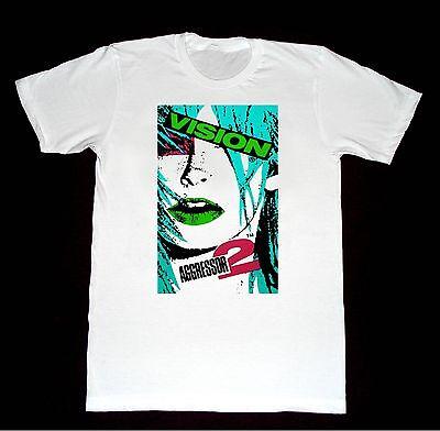 Vision Aggressor 2 Gator Shirt 52 Tshirt Vintage Skateboard Hosoi Zorlac Alva