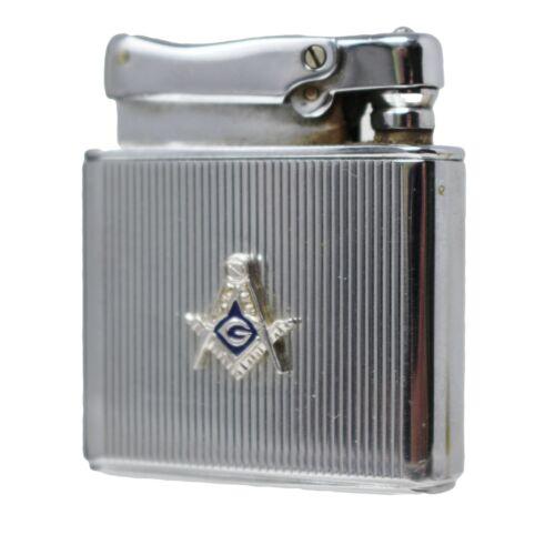 Vintage Masonic Freemason LIGHTER Colibri by Kreisler West Germany Cigarette