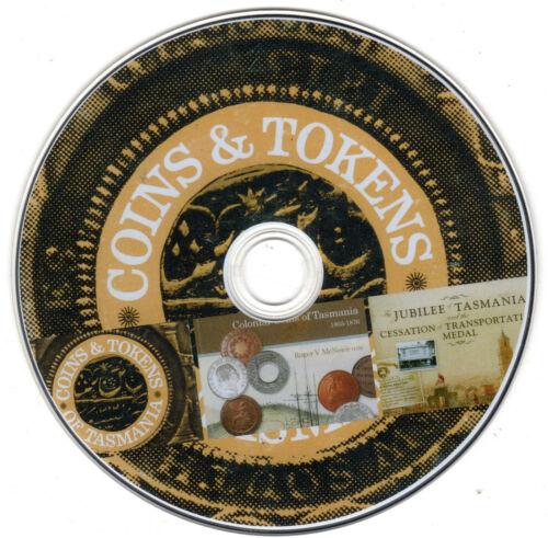 Tasmanian Numismatic Books on disc