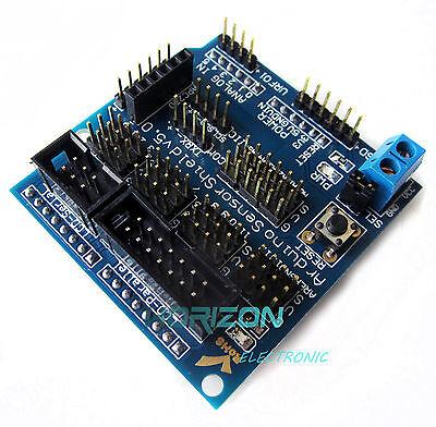 Sensor Shield V5 V5.0 For Arduino Apc220 Bluetooth Analog Module Servo Motor Top