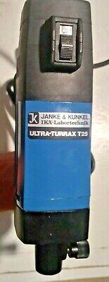 Ika Ultra-turrax T25 S1 Homogenizer Janke Kunkel Lab Stirrer Tested