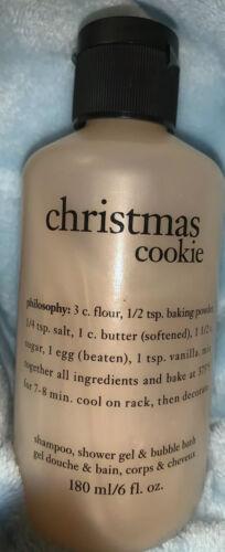 Philosophy CHRISTMAS COOKIE Shampoo Shower Gel Bubble Bath 6