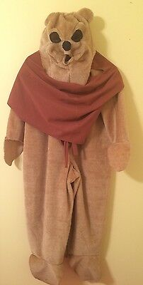 Ewok Costume Star Wars Childs Size L Large Ages 8-10 Handmade Halloween