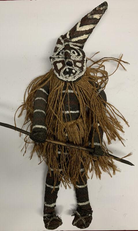 Authentic Zimbabwe & Zambia - Makishi Folk Art Doll