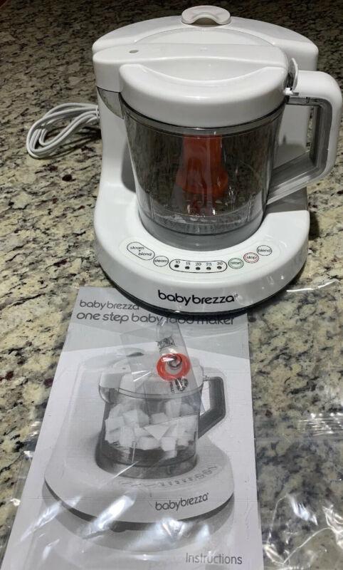Baby Brezza Baby Food Maker Machine One Step Cooker Blender Mixer