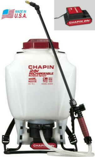 24v battery powered backpack sprayer charger set
