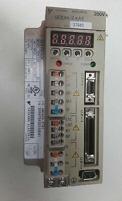 Sgdh-04ae Yaskawa Electric Servo Drive Servopack 200v Japan