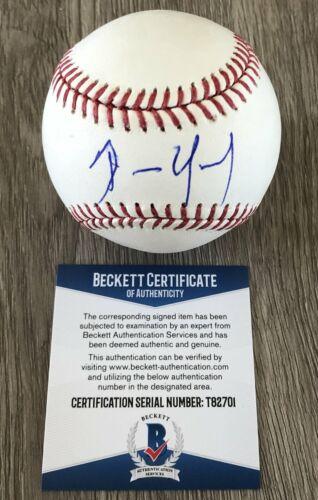 DENNIS QUAID THE ROOKIE SIGNED AUTOGRAPH MLB BASEBALL D w/EXACT PROOF & BAS COA