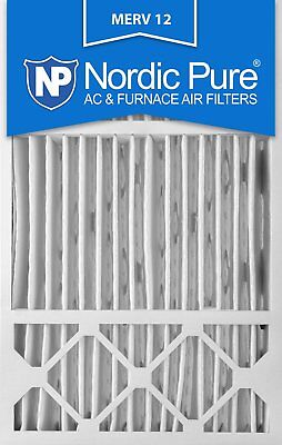 Nordic Pure 16x25x5 Honeywell Replacement MERV 12 Air Filter