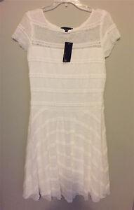 White Lace Dress NWT