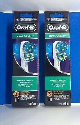 Oral-Bデュアルクリーン交換用電動歯ブラシヘッド-6カウント