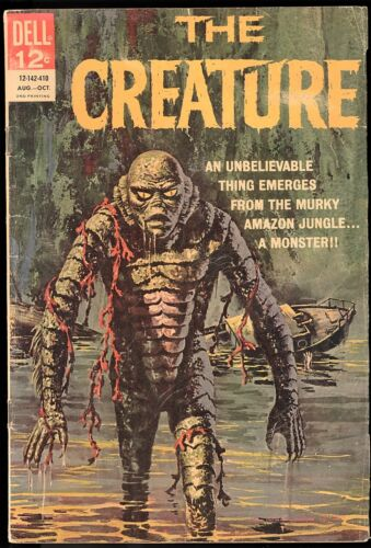DELL COMICS HORROR/MONSTER COMIC LOT- DRACULA, MUMMY, THE CREATURE, AND MORE!