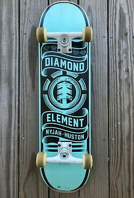 Element Nyjah Huston Skateboard 8.5- complete - used