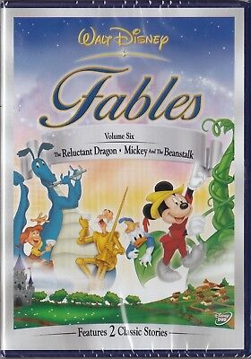 Fables Vol. 6 - Reluctant Dragon & Mickey and the Beanstalk Disney DVD _ New, used for sale  Ireland