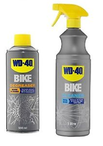BICYCLE AND CHAIN CLEANER! Cycle Bike Cleaner 1 Litre + 500ml Degreaser Spray