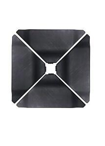 Abba Patio Cantilever Offset Umbrella Base Plate Set, Black,