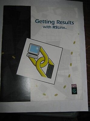 Rockwell Software 9399-wab32gr Getting Results With Rslinx Manual Used