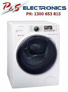 Samsung AddWash™ 11kg Front Load Washing Machine- WW11K8412OW Bass Hill Bankstown Area Preview