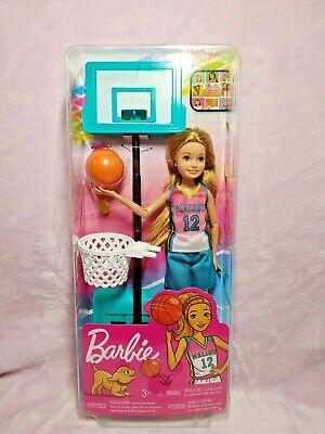 Barbie Dreamhouse Adventures Stacie Basketball Doll NIB