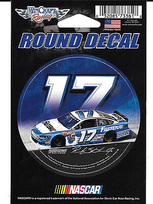 Ricky Stenhouse Jr  17 Fastenal 2015 Car Wincraft 3  Round Decal Sticker
