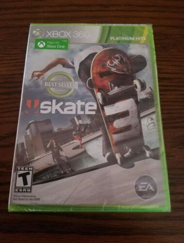 $15.99 - Brand New Factory Sealed  Skate 3 For Microsoft Xbox 360 PH game plays on xbox 1