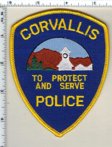 Corvallis Police (Oregon) Shoulder Patch - new from 1989