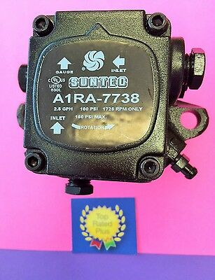 A1ra-7738 Suntec Sundstrand Waste Oil Heater Burner Pump 1725 Rpm New