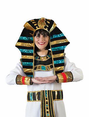 Pharaoh Egyptian God Headpiece Cleopatra King Tut Halloween Costume Accessory