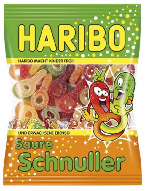 HARIBO Saure Schnuller [FIZZ] 6x 200 Gramm 1x6-er Pack