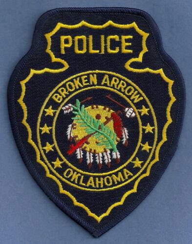 BROKEN ARROW OKLAHOMA POLICE SHOULDER PATCH INDIAN TRIBAL THEME