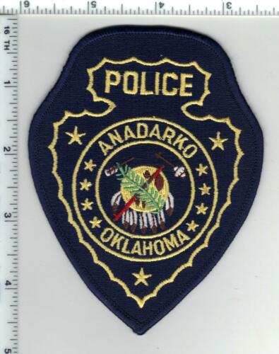 Andarko Police (Oklahoma) Shoulder Patch - new from the 1980