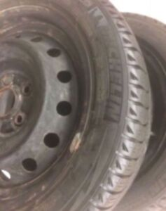Michelin Winter Tires 195/55/16 with Rims