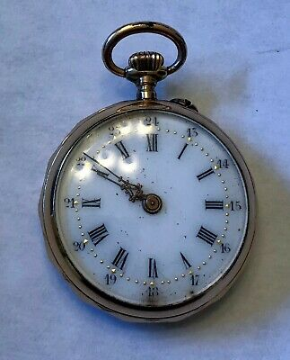 18 K Gold Antique Pocket Watch - working