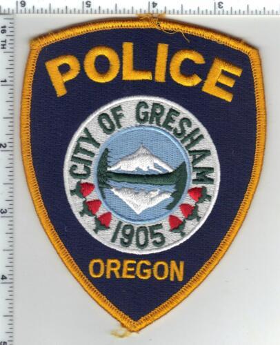 City of Gresham Police (Oregon) Uniform Take Off Shoulder Patch 1980