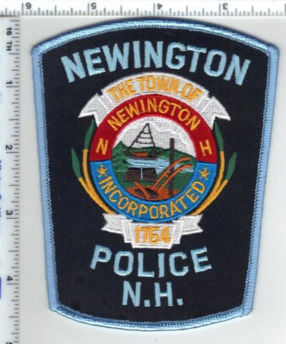 Newington Police (New Hampshire)  Shoulder Patch  - new from the 1980