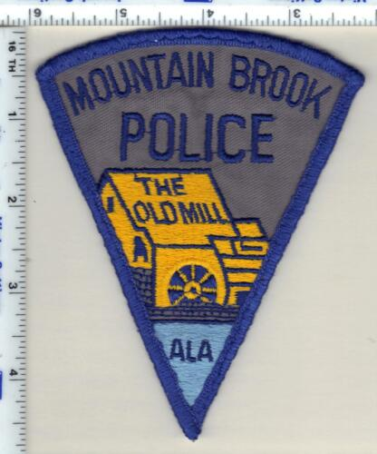 Mountain Brook Police (Alabama) Shoulder Patch - uniform take-off from 1992