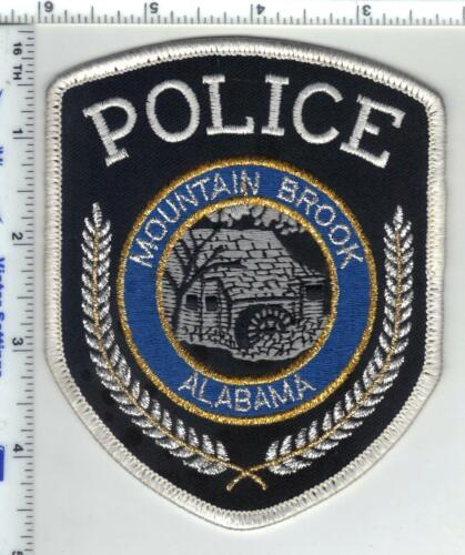 Mountain Brook Police (Alabama) 2nd Issue Uniform Take-Off Shoulder Patch