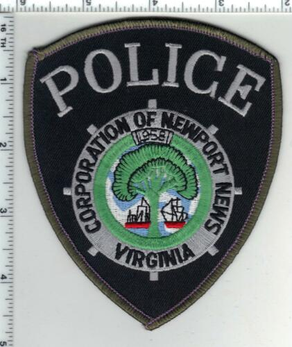 Newport News Police (Virginia) 4th Issue Shoulder Patch