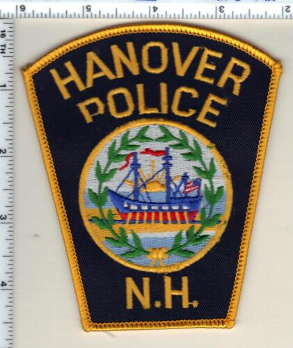 Hanover Police (New Hampshire)  Shoulder Patch  - new from 1987