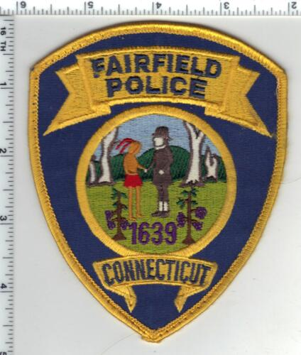 Fairfield Police (Connecticut) Uniform Take-Off Shoulder Patch from Early 1980