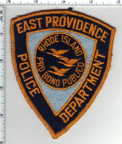 East Providence Police (Rhode Island) 1st Issue Uniform Take-Off Shoulder Patch