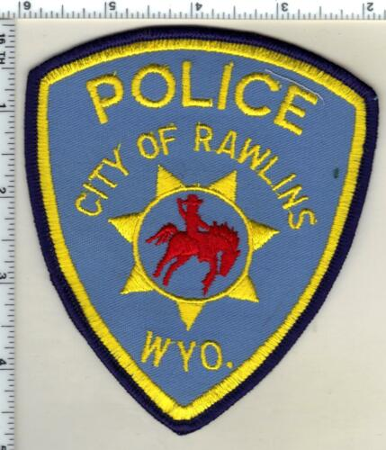 City of Rawlins Police (Wyoming) 2nd Issue Shoulder Patch