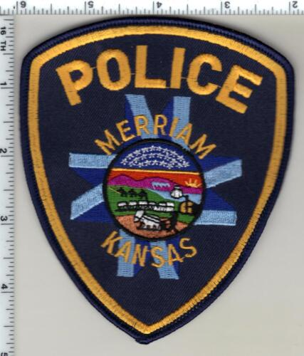 Merriam Police (Kansas) uniform take-off patch from 1985